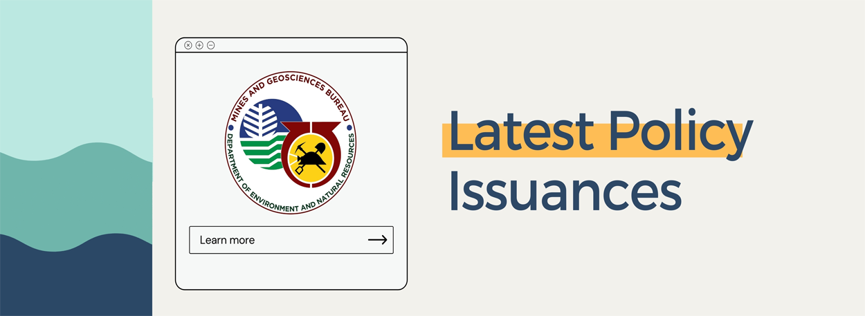 Latest Policy Issuances